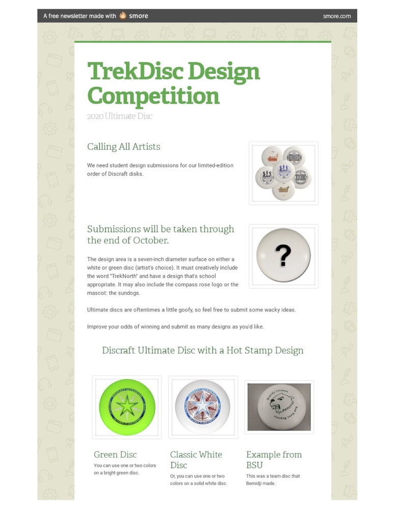 TrekDisc Design Competition
