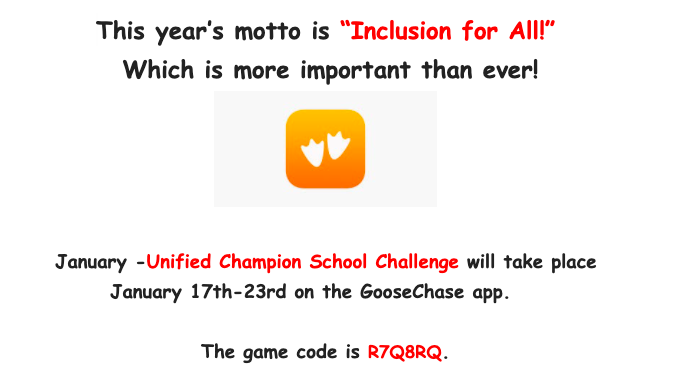 Unified Goosechase