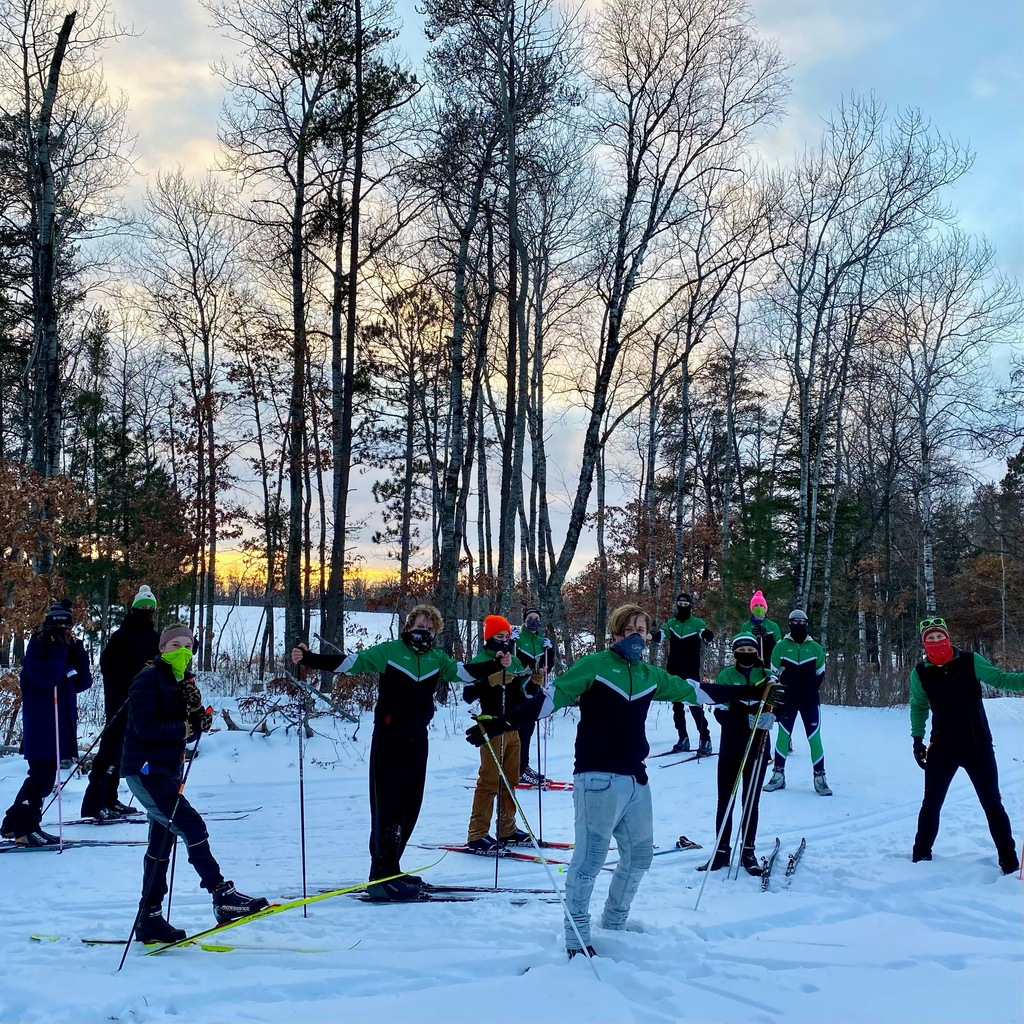 First day of practice for the 2021 TrekNorth Sundogs Nordic Ski Team!