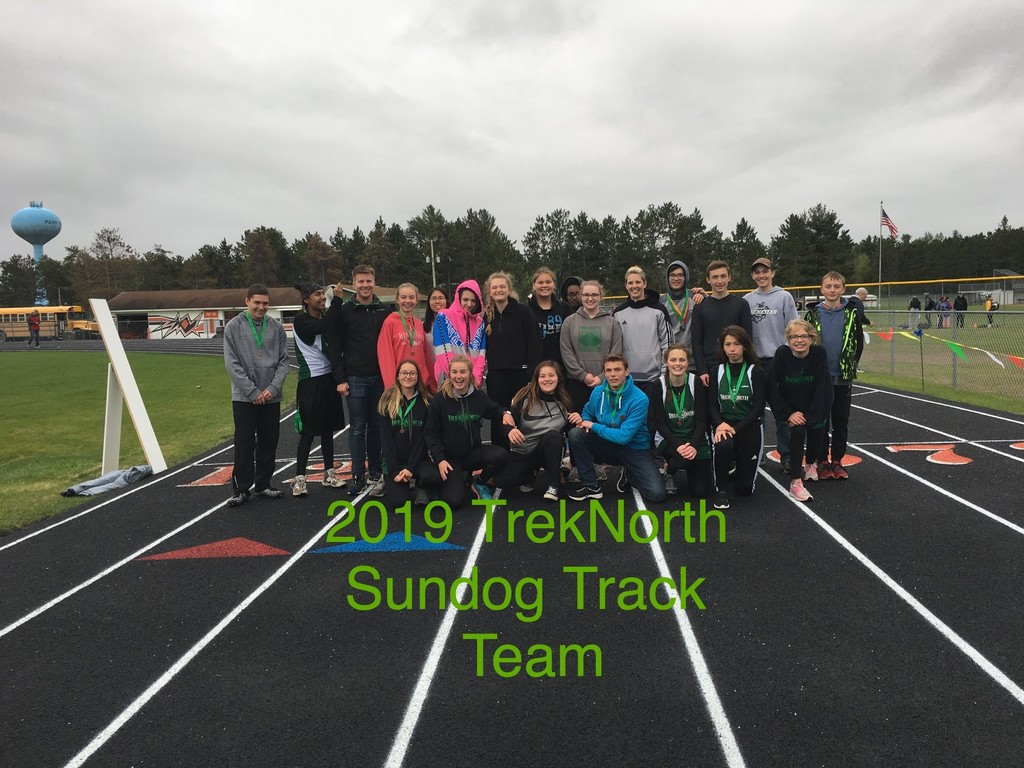 2019 Sundogs Track & Field Team